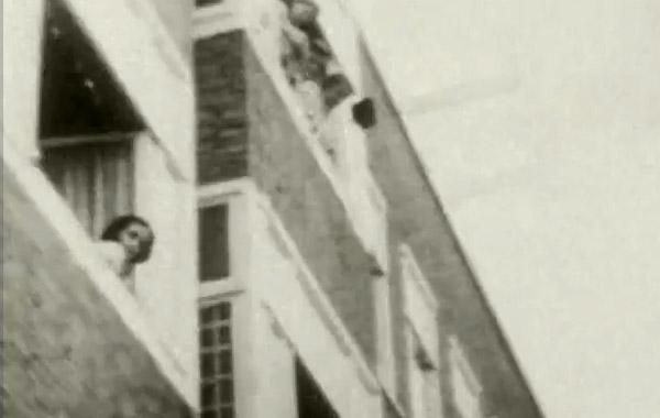 Anne Frank – Filmaufnahme