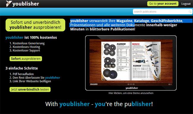 Online-Broschüren aus PDF-Dateien