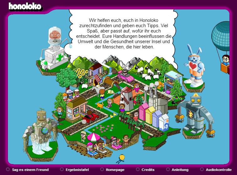 Willkommen auf Honoloko