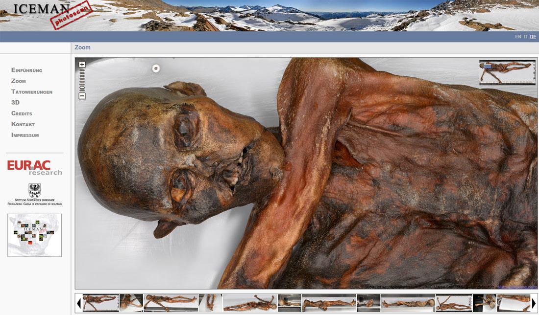 Ötzi – im Detail