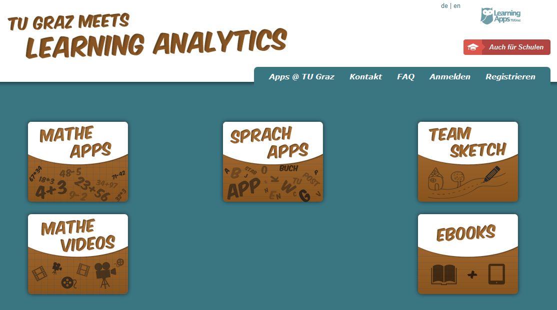 Mathe Apps und Sprach Apps für die Volksschule – Learning Analytics